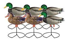 Greenhead Gear Pro-Grade Duck Decoy,Full Body Mallard/Active w/flocked drake heads,1/2 Dozen by GreenHead Gear. Greenhead Gear Pro-Grade Duck Decoy,Full Body Mallard/Active w/flocked drake heads,1/2 Dozen.