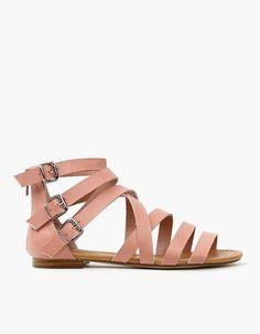 Blush Gladiator Sandals