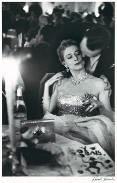 """Robert Frank """"Charity Ball, New York City"""" from the series """"The Americans""""  1955"""