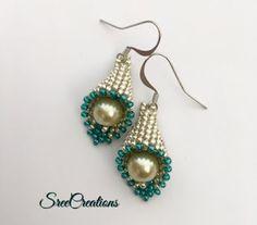 The Beading Gem's Journal: Sweet Beaded Bell Earrings Tutorial
