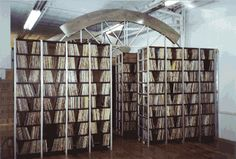 The ARChive of Contemporary Music is a not-for-profit archive, music library, and research center located in New York City that collects, preserves and provides information on the popular music of all cultures and races throughout the world from 1950 to the present. It's a treasure trove for audiophiles and music geeks.