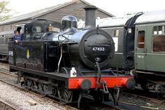 47493  'JINTY' TANK ENGINE  LONDON MIDLAND & SCOTTISH RAILWAY