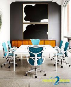Design bureaustoel bestaand uit 99% recyclebaar materiaal