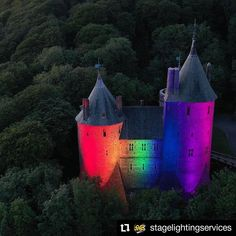 "SGM Light on Instagram: ""#Repost @stagelightingservices • • • • • • Castell Coch Its always been a pleasure to help @cadwcymruwales support some fantastic causes…"""