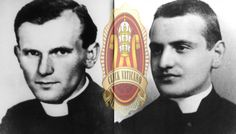 Young Pope John Paul II & Pope John XXIII