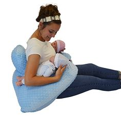 The Twin Z Pillow - Blue - 6 uses in 1 Twin Pillow ! Breastfeeding, Bottlefeeding, Tummy Time, Reflux, Support and Pregnancy Pillow! Twin Breastfeeding Pillow, Twin Feeding Pillow, Twin Nursing Pillow, Pregnancy Pillow, Pregnancy Art, Pregnancy Humor, Baby Feeding, Twin Baby Clothes, Twin Baby Boys