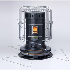 Portable Space Heater, Kerosene Heater, Camping Gas, Safety Switch, Home Safes, Dark Grey Color, Chilly Weather, Indoor Outdoor, Home Improvement