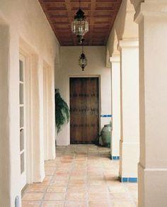columns / courtyard