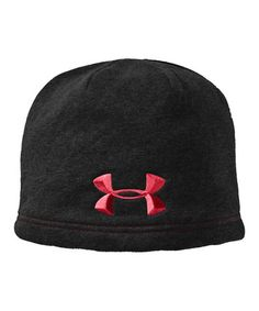 4cc7b795364 Take a look at this Black  amp  Red UA Storm Beanie by Under Armour®