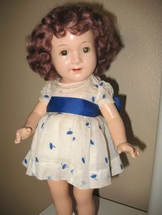 """16"""" open mouth Jane Withers Doll"""