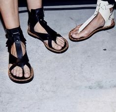 Studded sandals are a must for spring, like these from Isabel Marant http://www.isabelmarantsneaker.com/15-sandals