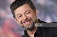 Actor Andy Serkis arrives at the Los Angeles premiere of 'The Hobbit: The Battle Of The Five Armies' at Dolby Theatre on December 9, 2014 in Hollywood, California.