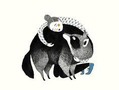 In mijn werk word ik vaak geïnspireerd door dieren, meestal op een positieve manier, maar helaas niet altijd. Ik heb filmpjes gezien waarbij wasbeerhonden levend gevild worden en begrijp niet waarom dit nog iedere dag gebeurt. Om ook werkelijk iets te kunnen doen voor deze dieren, nam ik contact op met de organisatie Bont voor Dieren, …