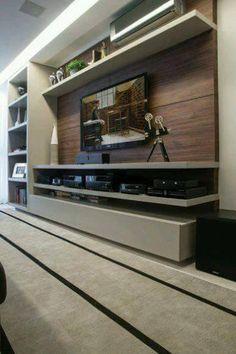 Ideas para decorar el area de tv - Curso de Organizacion del hogar