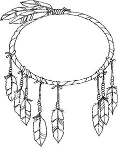 Free Coloring Pages Of Indian Feathers American Indians