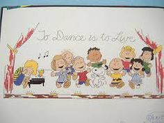 peanuts to dance is to live cross stitch - Google Search