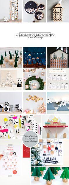 ≡ Advent calendar diy, calendario de adviento diy, calendario de adviento, advent calendar