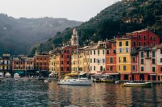 Portofino in Italy / photo by Brian Langum