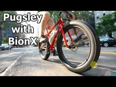 Surly Pugsley with BionX - Electric fat bike!
