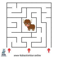 free printable mazes for kids Mazes For Kids Printable, Free Printable Worksheets, Free Printables, Kids Mazes, Preschool Activities At Home, Maze Puzzles, Maze Game, Shapes Worksheets, Kindergarten Worksheets