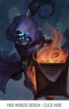 Jax League of Legends Champion Artwork