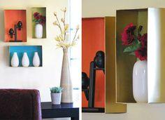 Suitcase Shelf - DIY Shelves - 10 Creative Projects - Bob Vila