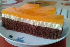 Tvarohové rezy so želatínou Sweet Recipes, Cheesecake, Food And Drink, Hampers, Cheesecakes, Cherry Cheesecake Shooters