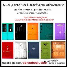 Dental Solution by Lilian Meneguetti: Teste de Personalidade!