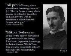 Nicola Tesla, a genius