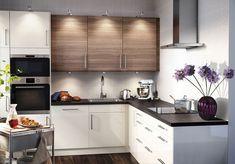 Кухня 6 кв м - дизайн современные идеи 2016 фото