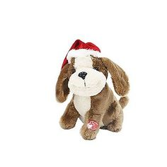Trim A Home® -9in Singing Animated Dog.  Available at Kmart