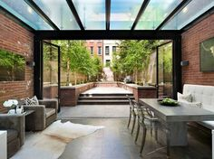 NYC East Side Brownstone - transitional - Sunroom - New York - Frank M. DeBono Construction Corp.