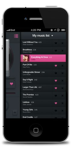 Dribbble - full-music_list.png by JOMMANS