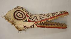 Crocodile mask Papua New Guinea
