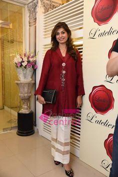 Women Dresses, Women's Fashion, Women's Trends, Pakistan Fashion, Pakistani Dresses  Current Events, Pakistani Fashion EventsLaunching of L'atelier Flagship Store In Islamabad