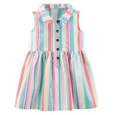 Best 12 Carter's Baby Girl Striped Henley Dress Girls Frock Design, Baby Dress Design, Kids Frocks Design, Baby Frocks Designs, Frocks For Girls, Little Dresses, Little Girl Dresses, Baby Girl Frocks, Toddler Outfits