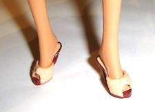 Barbie Doll Sized Louboutin Shoes Heels For Model Muse Doll sh77