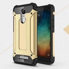 For Xiaomi Redmi Note 3 Pro Hybrid Cases Armor Guard PC + TPU Protective Case for Xiaomi Redmi Note 3/Note 3 Pro - 5.5 inch