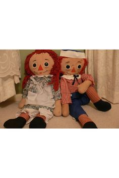 My Raggedy Ann and Andy from the 1970's