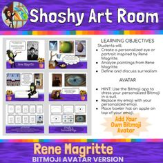 Shoshyart Worksheets & Teaching Resources | Teachers Pay Teachers Teacher Resources, Teacher Pay Teachers, 5th Grade Art, Learning Objectives, 5th Grades, Worksheets, Student, Teaching, Education