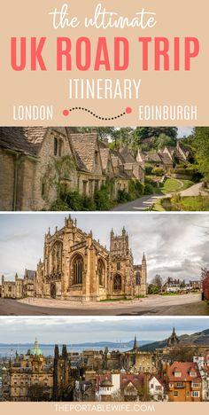 Scotland Road Trip, Scotland Travel, Places To Travel, Travel Destinations, Holiday Destinations, Travel Tips, Road Trip Uk, Uk Trip, London To Scotland