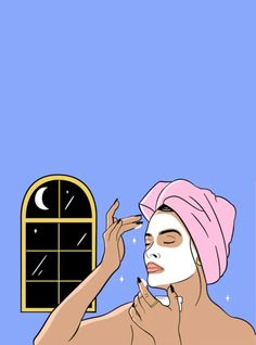 Not all nighttime beauty products are created equal. Here's what board-certified dermatologist Dr. Debra Jaliman, MD, says you should use for your skin type. Makeup Illustration, Beauty Illustration, Images Esthétiques, Desenho Pop Art, Makeup Artist Logo, Skin Clinic, We The Best, Instagram Highlight Icons, Aesthetic Art