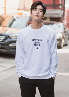 [[FAC.02] 시티 자수 맨투맨 티셔츠] 남자쇼핑몰