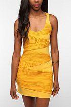 Sparkle & Fade Textured Bodycon Dress