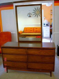 Mid+Century+Danish+Modern+Furniture | Treasury Item- Vintage Mid Century Danish Modern Furniture - Dresser ...