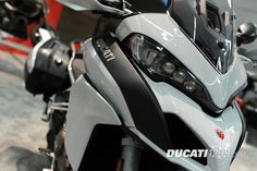 2015 Ducati Multistrada 1200 S at the International Motorcycle Show in Portland, Oregon.