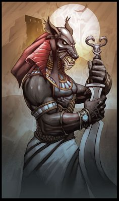 Set - Egyptian God of Deserts, Storms, Darkness and Chaos