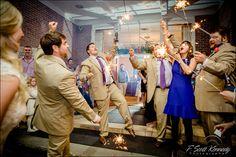 Wedding day reception party