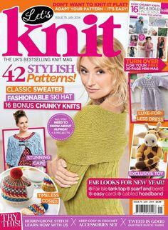 Lets Knit Issue 75 2014 - 轻描淡写 - 轻描淡写