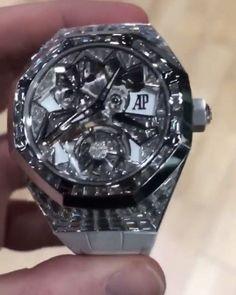 audemars piguet all black Audemars Piguet Royal Oak, Baguette Diamond, Luxury Watches, Fashion Watches, Watches For Men, Men's Watches, Jewelry Collection, Bracelet Watch, Jewelry Bracelets